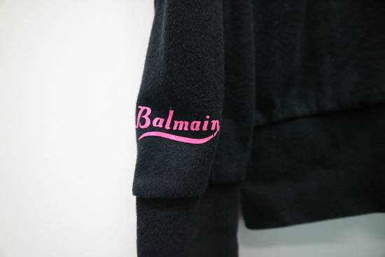 Balmain Vintage Balmain Paris Sweatshirts Zip Up Black Color Small Logo Spellout size 38 Size US S / EU 44-46 / 1 - 3