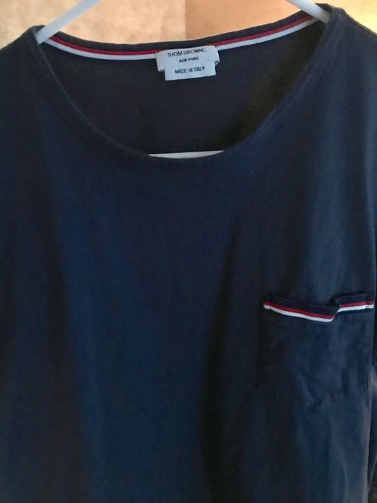 Thom Browne Navy T-Shirt Size 4 Size US L / EU 52-54 / 3