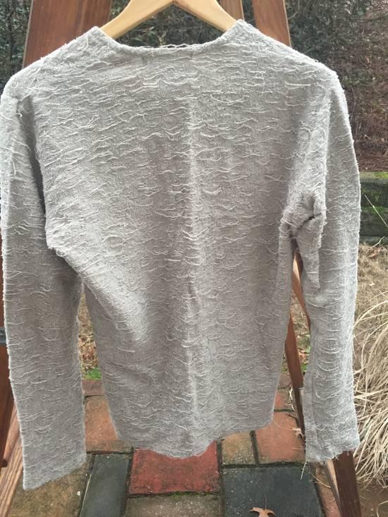 Julius AW08 Destroyed Cotton Sweater Size US S / EU 44-46 / 1 - 6