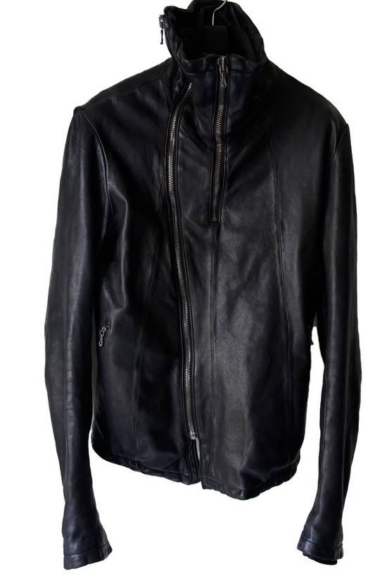 Julius JULIUS _7 ma high neck black lamb biker jacket slim fit Japan Size US S / EU 44-46 / 1 - 6