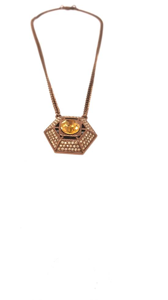 Givenchy Brown necklace Size ONE SIZE - 1