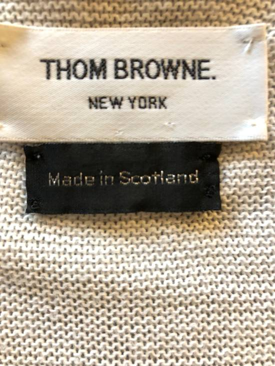 Thom Browne Thom Browne White Knit Cardigan Size US S / EU 44-46 / 1 - 4