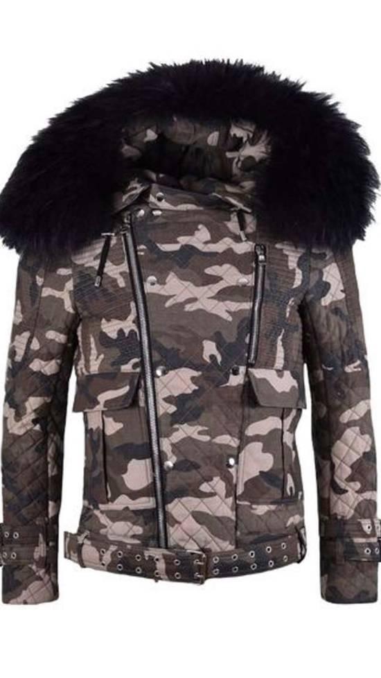 Balmain Raccoon Fur Hooded Jacket Size US M / EU 48-50 / 2 - 6
