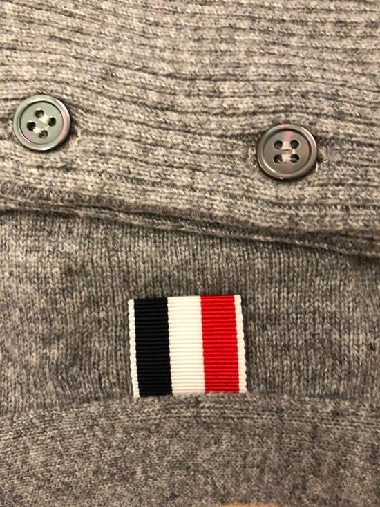 Thom Browne THOM BROWNE Slim-Fit Striped Cashmere Cardigan Size US XL / EU 56 / 4 - 2