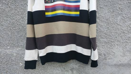 Givenchy $795 Givenchy American Flag Stripe Rottweiler Oversized Sweater size XXS (L) Size US L / EU 52-54 / 3 - 9