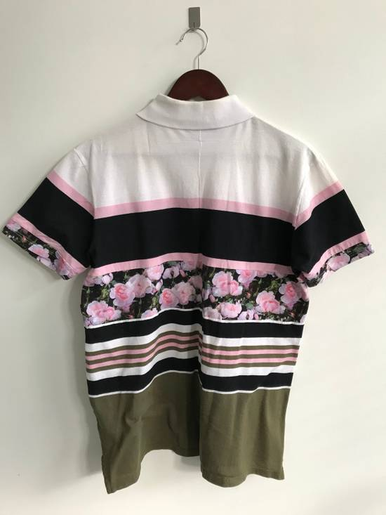Givenchy Floral Print Polo Shirt Size US S / EU 44-46 / 1 - 2