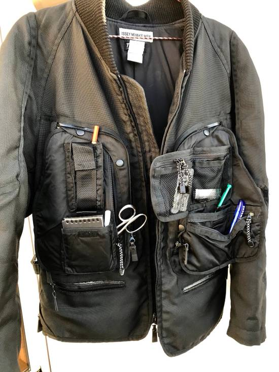 Issey Miyake Cyber Space Suit Cargo Coat AW2000 Size US XL / EU 56 / 4