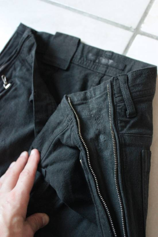 Julius Jacquard Denim trousers sz 3 Size US 32 / EU 48 - 6