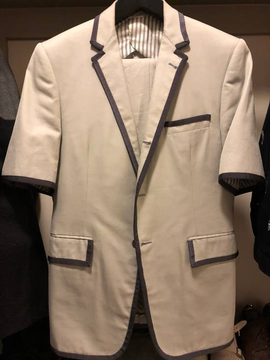 Thom Browne Septemberists Shortsleeve Suit SS07 Size 36S