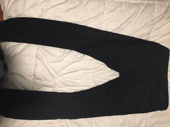 Balmain Balmain Faded Black Skinny Jeans Size US 32 / EU 48 - 9