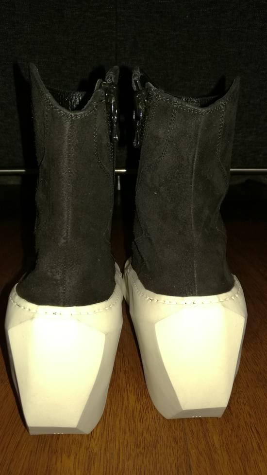 Julius HI Top Goat Nubuck Coated Polygon Platform Sneakers Size US 11 / EU 44 - 4