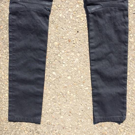 Balmain Gray Biker Jeans Size US 27 - 9