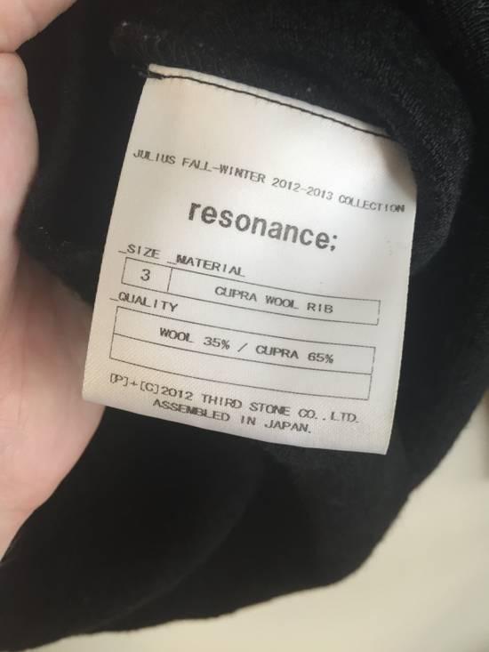 Julius AW12 Cupra/Wool Paneled Sweater Size US XS / EU 42 / 0 - 8