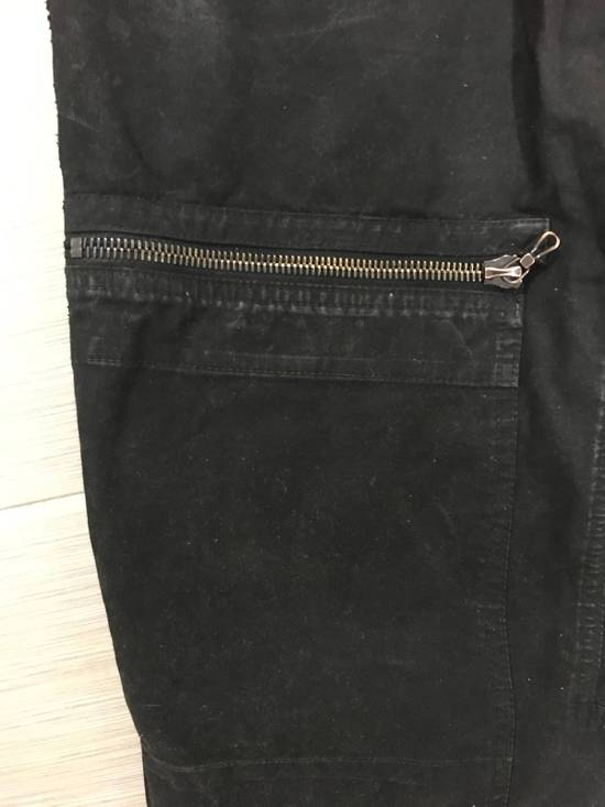 Julius A/w08 Sample Waxed Cargo Pants Size US 32 / EU 48 - 4