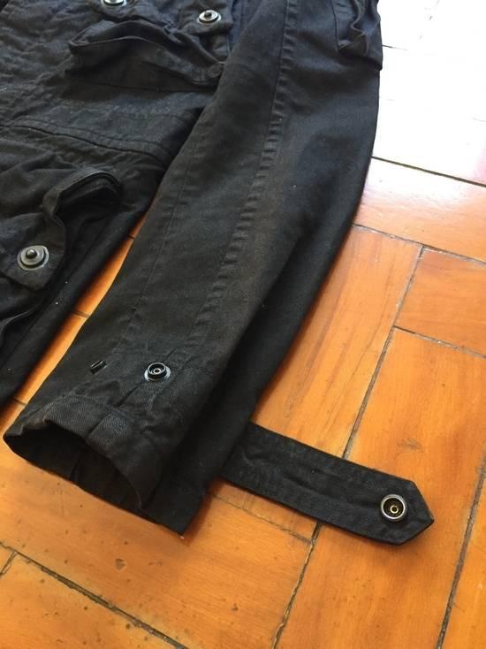 Julius AW08 Gas mask cargo pocket denim jacket Size US S / EU 44-46 / 1 - 12