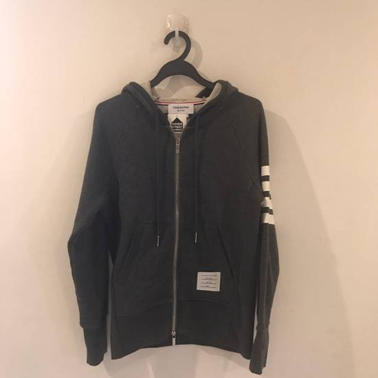 Thom Browne Thom Browne X Dover Street Market Engineered 4-bar Zip Up Hoodie Size US XS / EU 42 / 0