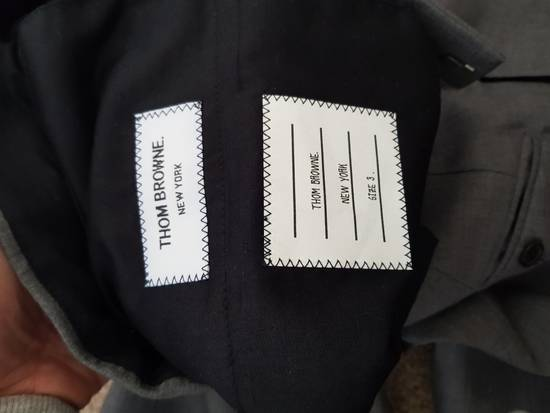 Thom Browne Light Grey cropped dress trousers Size US 32 / EU 48 - 1