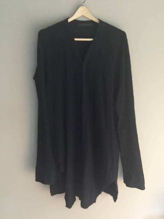 Julius Angora Wool Long Cardigan concealed placket Size US L / EU 52-54 / 3 - 4