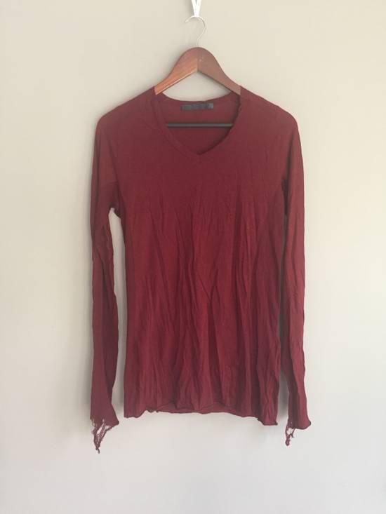 Julius SS09 Cotton/Silk Distressed Longsleeve Size US S / EU 44-46 / 1