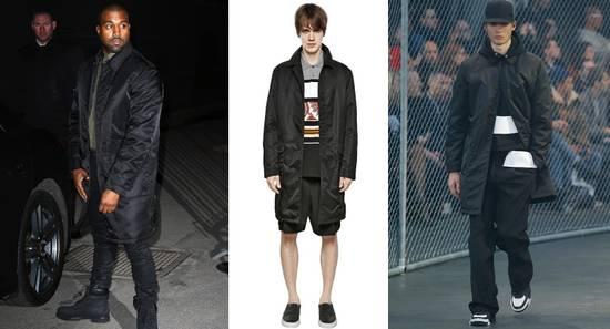 Givenchy $3200 Givenchy Long Padded Nylon Rottweiler Shark Overcoat Jacket size M (L) Size US M / EU 48-50 / 2 - 1