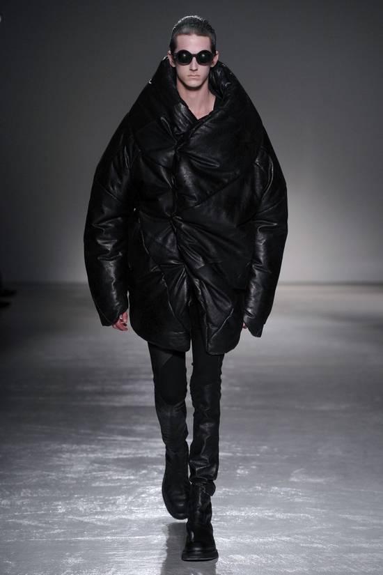 Julius Knee Paneled Leather Biker Pants Size US 30 / EU 46 - 9