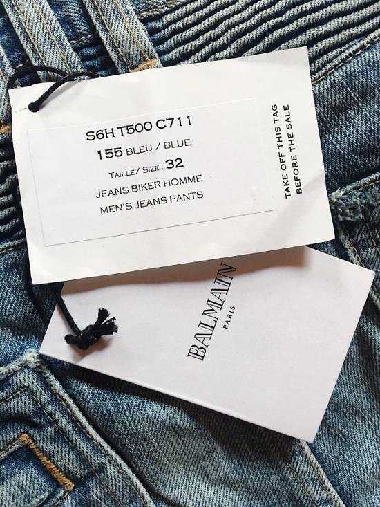 Balmain Biker Jeans Size US 32 / EU 48 - 6
