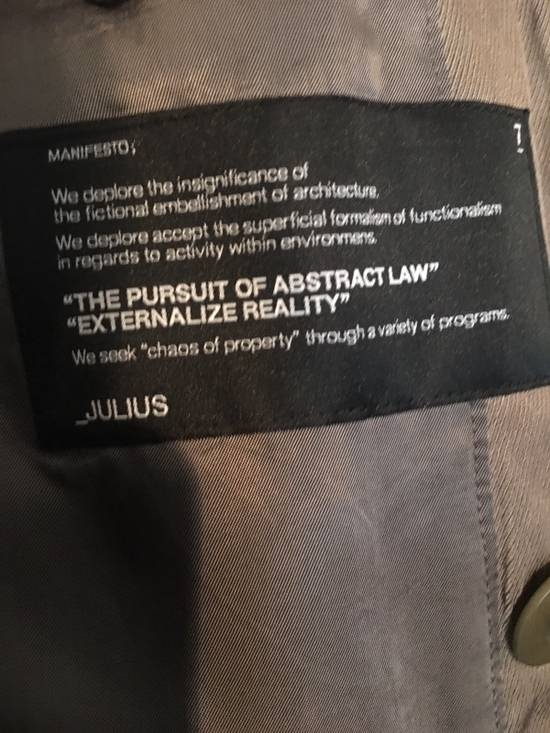 Julius AW07 Khaki light coat Size US M / EU 48-50 / 2 - 3