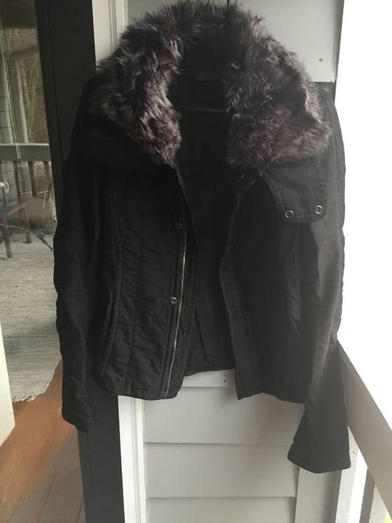 Julius JULIUS Cotton Moleskine Fur Collar Jacket Size US S / EU 44-46 / 1 - 1