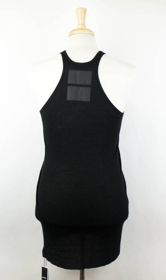 Julius 7 Black Silk Blend Long Ribbed Tank Top T-Shirt Size 4/L Size US L / EU 52-54 / 3 - 2