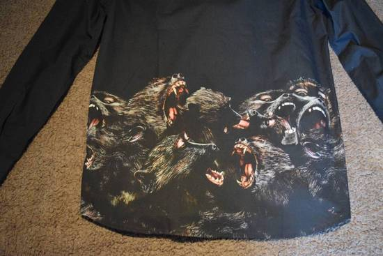 Givenchy Givenchy Authentic $890 Monkey Print Black Shirt Size 40 Brand New With Tags Size US L / EU 52-54 / 3 - 3