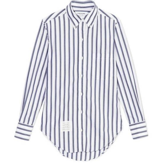 Thom Browne Classic Shirt In Thick Stripe Poplin Size US M / EU 48-50 / 2 - 1
