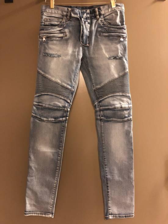 Balmain Distressed Jeans Size US 32 / EU 48 - 1