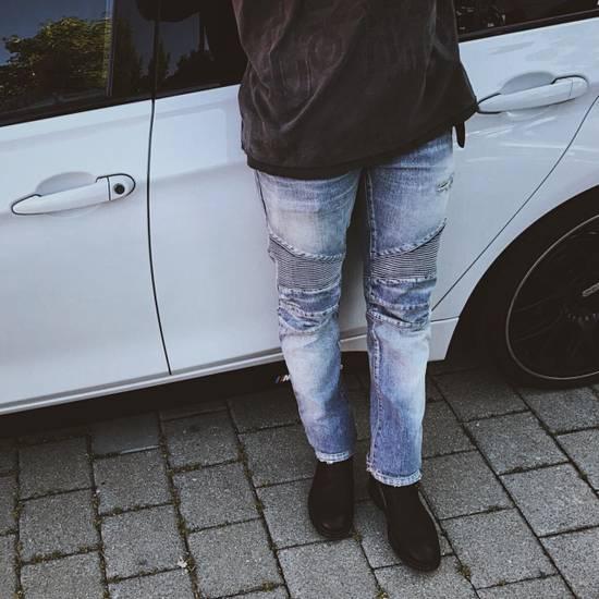 Balmain Biker Jeans Size US 32 / EU 48 - 7