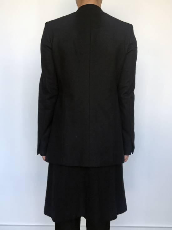 Julius Angora Double Layer Skirted Blazer Size 46R - 3