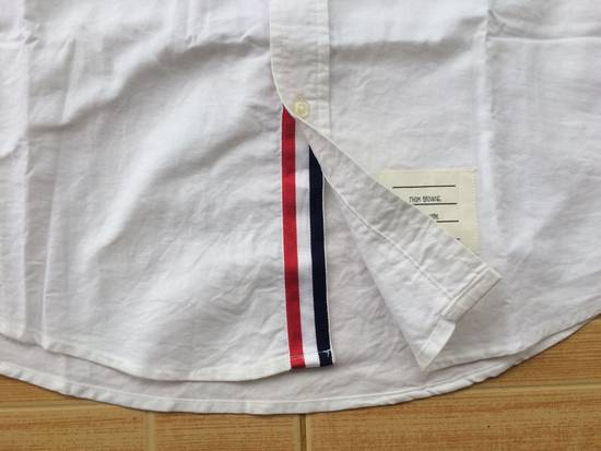 Thom Browne Oxford White Shirts With Grosgrin Size US M / EU 48-50 / 2 - 2