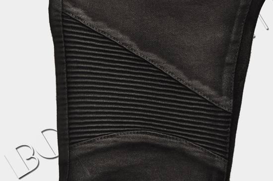 Balmain 1265$ Skinny Coated Stretch Denim Biker Jeans Size US 27 - 7