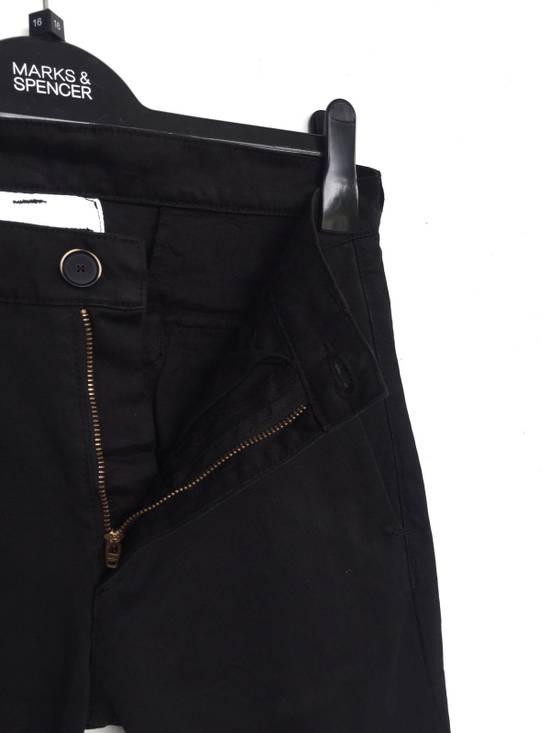 Julius Japanese Artist Designer Blue Tornado Cotton Twill Twist Leg Skinny Trousers Pants Inspired by MA_Julius Size US 30 / EU 46 - 3