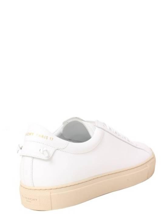 Givenchy Paris White Leather Sneakers Size US 12 / EU 45 - 3