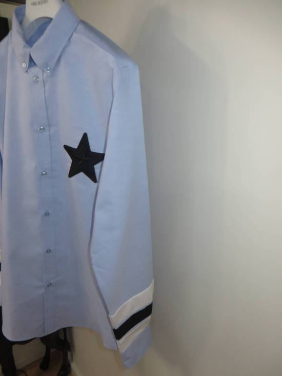 Givenchy Embroidered star applique shirt Size US M / EU 48-50 / 2 - 5