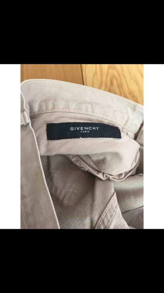 Givenchy Givenchy Snow-White Jeans Straight Fit Size US 29 - 2