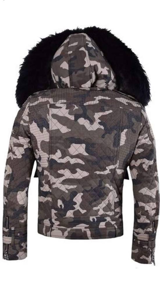 Balmain Raccoon Fur Hooded Jacket Size US M / EU 48-50 / 2 - 7