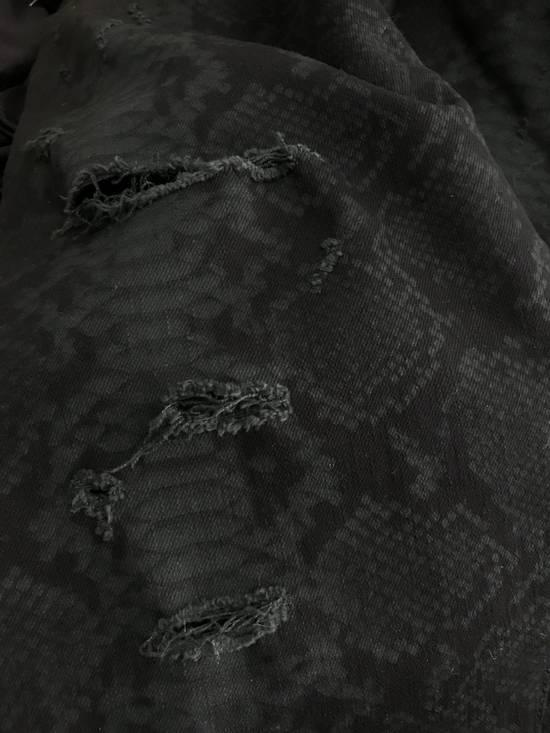 Balmain Size 32 - Distressed Snake Print Rockstar Jeans - FW17 - RARE Size US 32 / EU 48 - 10