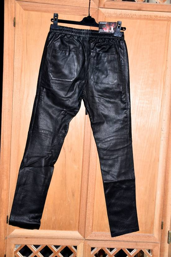 Balmain Leather Track pants Size US 30 / EU 46 - 7