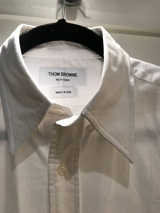 Thom Browne Spring Sale!!! Thom Browne Men's Embroidered Shirt Size 2 Size US M / EU 48-50 / 2 - 2