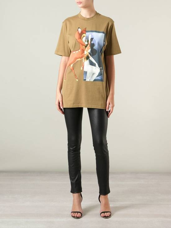 Givenchy Khaki Bambi T-shirt Size US L / EU 52-54 / 3 - 2