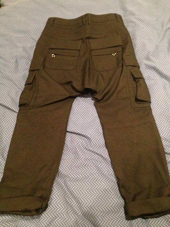 Balmain Wool Cargo Trousers Size US 29 - 5