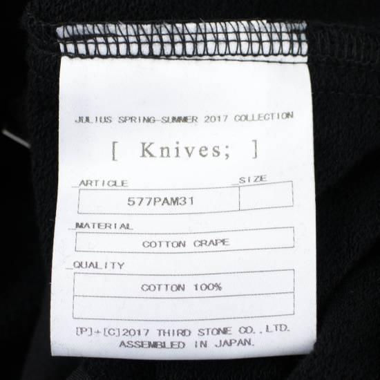 Julius 7 Black Cotton Asymmetric Layered Shorts Size S Size US 32 / EU 48 - 4