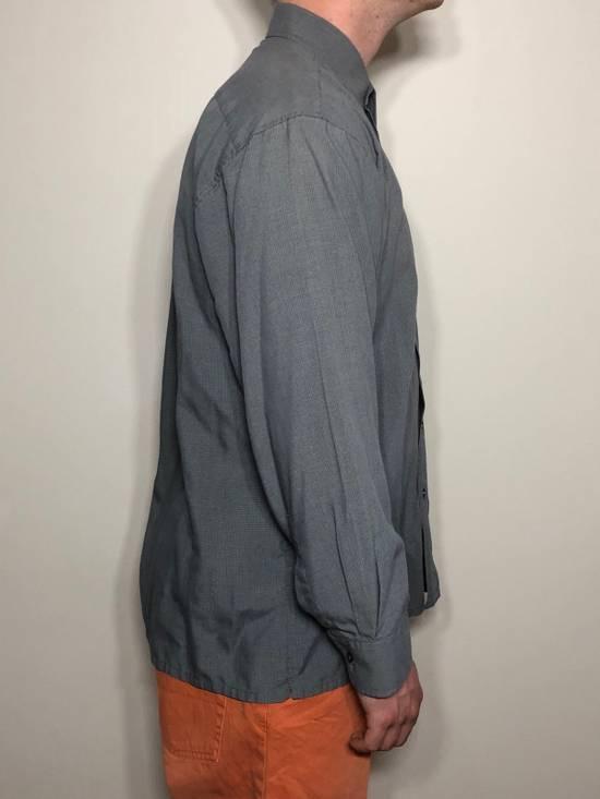 Balmain Grey Pattern Button Down Size US L / EU 52-54 / 3 - 3