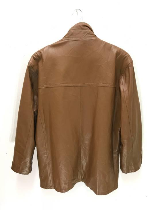Balmain Balmain Paris Vintage Sheep Leather Jacket Brown Size US L / EU 52-54 / 3 - 4