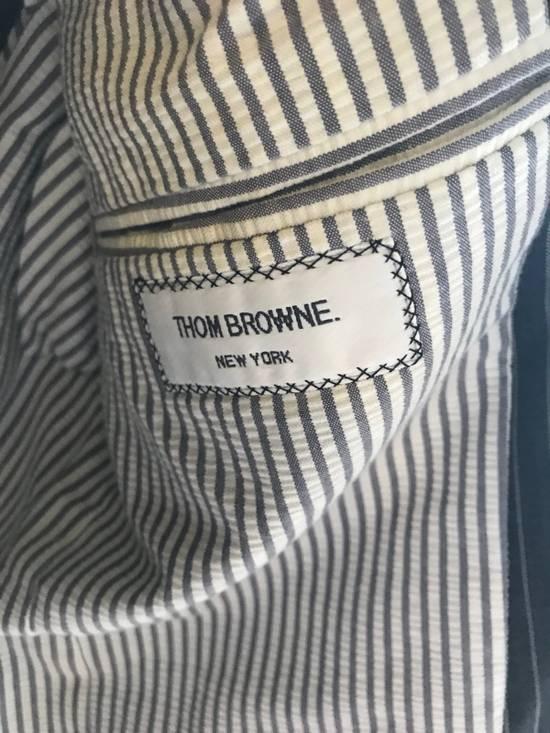 Thom Browne Thom Browne Pinstripe Blazer SIZE 2 Summer Weight Size 38R - 5